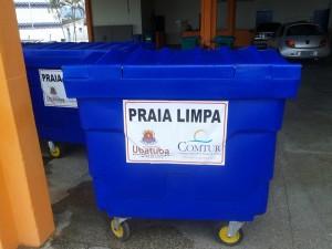Aquisição de 40 Caçambas de Lixo