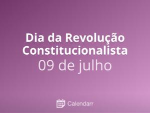 Expediente devido ao feriado da Revolução